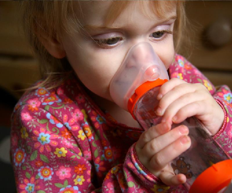 asma bambini muffa
