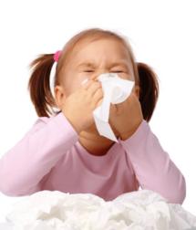 bambina allergica alla muffa