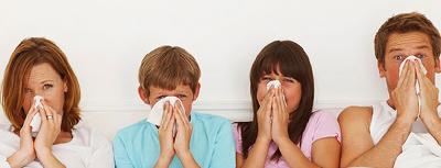 famiglia allergie muffa