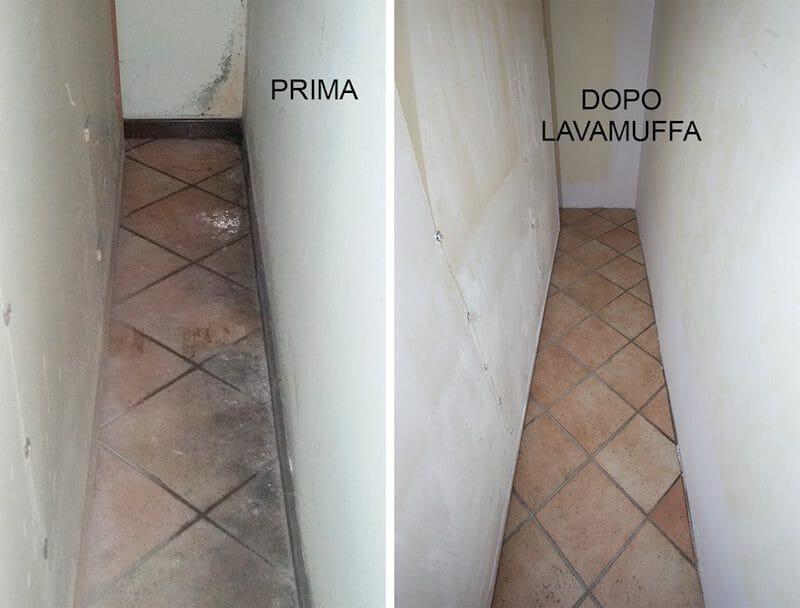 pulire muffa pavimenti