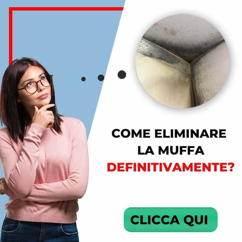 come eliminare muffa analisi