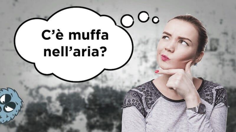 test muffa spore contaminazione