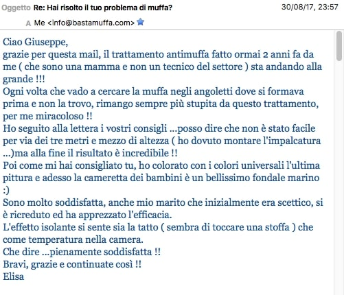 recensioni email bastamuffa