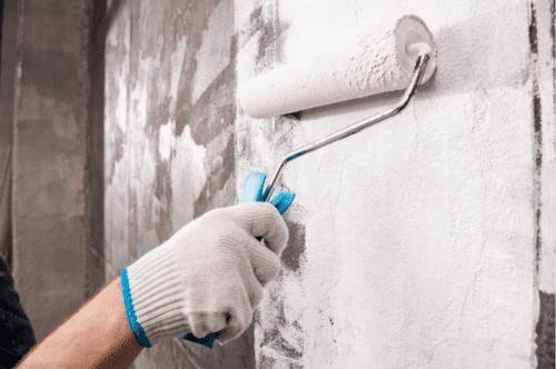 pulire muri  sporchi