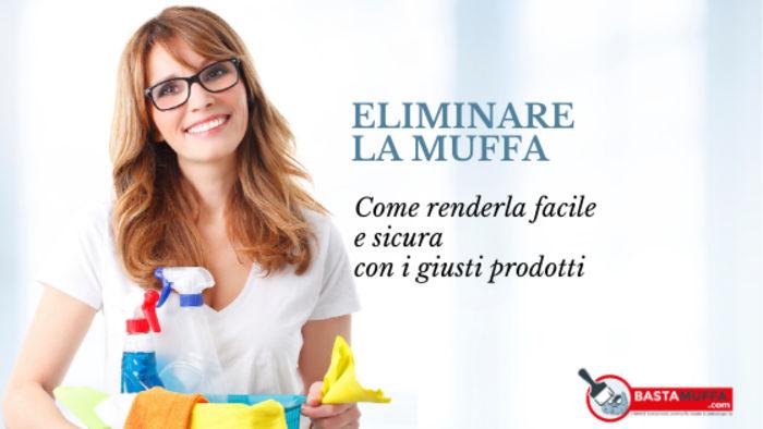 eliminazione muffe